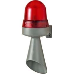 Werma Blitzlicht-Hupe 24V AC/DC rt 425.120.75