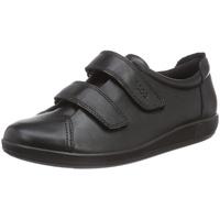 ECCO Soft 2.0 Komfort-Halbschuhe schwarz 36