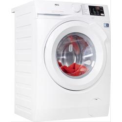 AEG Waschmaschine, L6FBA5470 D (A bis G) weiß Waschmaschinen Haushaltsgeräte Waschmaschine