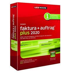 Lexware faktura+auftrag plus 2020 Jahresversion einfaches Rechnungsprogramm rot