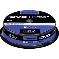 Intenso DVD+R 8,5GB DL 8x 10er Spindel