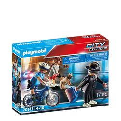 PLAYMOBIL® 70573 Polizei-Fahrrad: Verfolgung des Fluchtfahrzeugs