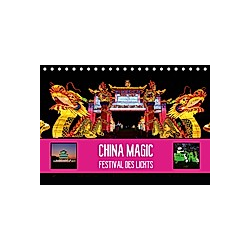 China Magic (Tischkalender 2021 DIN A5 quer) - Kalender