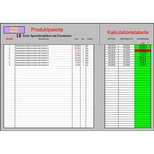 Rechnungsprogramm Rechnungssoftware mit Kundendatentransfer für Ebay Händler XLS