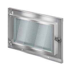 ACO Severin Ahlmann GmbH & Co. KG Kellerfenster ACO MARKANT Stahlkellerfenster 1 Flügel ESG Sicherheitsglas mit Mauerranker, inkl. Maueranker 70 cm x 40 cm
