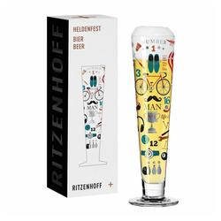 Ritzenhoff Bierglas Heldenfest Bier 002, Kristallglas, Made in Germany