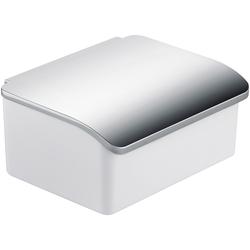 Feuchttücherbox »Elegance«, mit Porzellanbehälter, Wandmontage, 55267532-0 weiß weiß