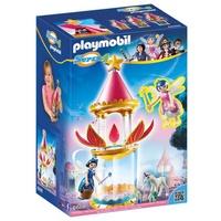 Playmobil Super 4 Zauberhafter Blütenturm mit Feen-Spieluhr und Twinkle (6688)