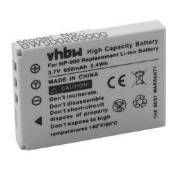 vhbw Li-Ion Akku 800mAh (3.6V) für Kamera Camcorder Video Revue DC 50 wie NP-900, 02491-0015-00.
