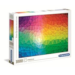 Clementoni® Puzzle Gradient High Quality Collection 1000 Teile Puzzle, Puzzleteile bunt