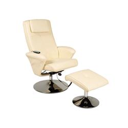 aktivshop Relaxsessel Relax-Sessel Design, creme natur