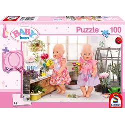 Schmidt Spiele - Puzzle - Blumenmädchen 100 Teile
