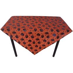 JOKA international Tischdecke Tischdecke Halloween Kürbis orange/schwarz