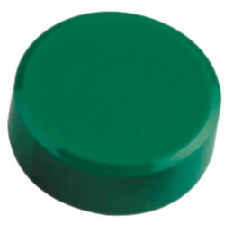 Kraftmagnet 34mm Durchmesser 2kg Haftkraft 20 Stück grün
