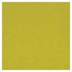Duni Zelltuch Servietten 33x33 3lg 1/4 kiwi - 4x250 Stück
