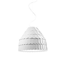 Roofer Pendelleuchte F12 A01 Ø:57cm, Weiß