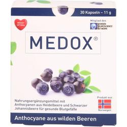 MEDOX Anthocyane aus wilden Beeren Kapseln 30 St.