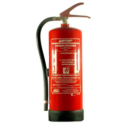 Feuerlöscher 6 kg, mit Wandhalterung