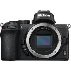 Nikon Z50 Body Systemkamera (20,9 MP, Bluetooth, WLAN (Wi-Fi)