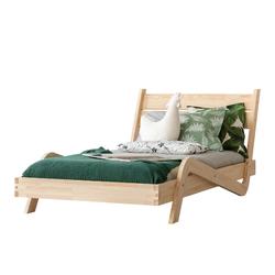 Łóżko Berina młodzieżowe z drewna