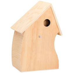 Vogelhaus aus Holz, 20 x 14 x 30,5 cm