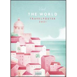 Travelposter 2021 - Reiseplakate-Kalender von DUMONT- Wand-Kalender - Poster-Format 495 x 685 cm