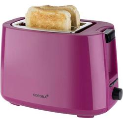 Korona Toaster Toastfunktion, mit Brötchenaufsatz Beere