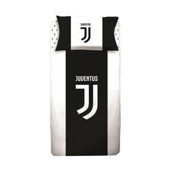 Bettwäsche Juventus Turin - Fußball-Bettwäsche-Set, 135x200 & 80x80 cm, Juventus Turin, 100% Baumwolle