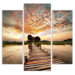 Wall-Art Mehrteilige Bilder To the other Side (3-teilig), (Set, 3 Stück)