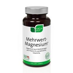 NICAPUR Mehrwert-Magnesium Kapseln 60 St