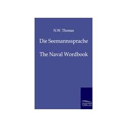 Die Seemannssprache als Buch von N. W. Thomas