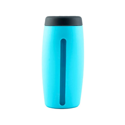 Kochblume Spülmittelspender Dosierspender, mit Sichtfenster blau