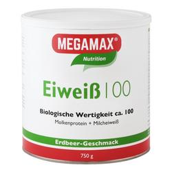 EIWEISS 100 Erdbeer Megamax Pulver 750 g