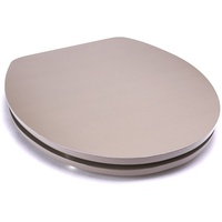 MSV WC-Sitz WEISS, Acryl taupe