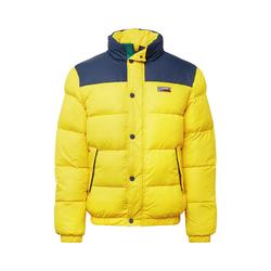 Tommy Jeans Herren Jacke gelb / blau