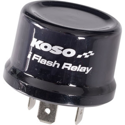 Koso 3-Pin Blinkrelais 12V, 1-80 Watt