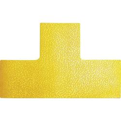 Durable 170004 Stellplatzmarkierung Form -T- Signal-Gelb 10 St. (L x B x H) 150 x 100 x 0.7mm