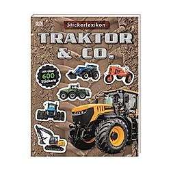 Sticker-Lexikon. Traktor & Co. - Buch