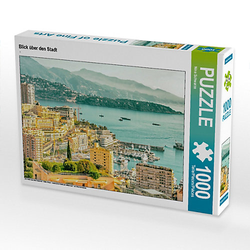 Blick über den Stadt Lege-Größe 64 x 48 cm Foto-Puzzle Bild von Nina Schwarze Puzzle