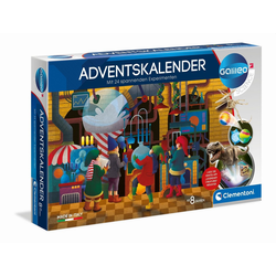 Clementoni® Spiel, Galileo Science - Adventskalender 2020