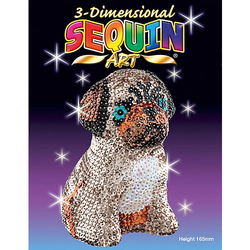 Sequin Art 3D Mops