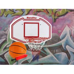 "Bandito Basketballkorb ""Winner""-Set, inkl. Basketball und Ballpumpe,,91 x 60 cm"