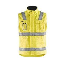 BLAKLÄDER® unisex Warnweste 8505 gelb Größe 3XL