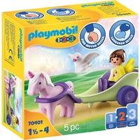Playmobil 1.2.3 Einhornkutsche mit Fee 70401