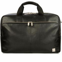 Knomo Brompton Amesbury Aktentasche Leder 41 cm black