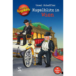 Kommissar Kugelblitz - Kugelblitz in Wien als Buch von Ursel Scheffler