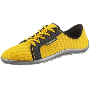 Leguano Barfußschuh AKTIV Sneaker mit ergonomischer Formgebung gelb 46
