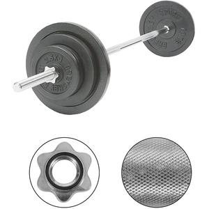 Langhantel-Set, 50 kg