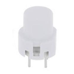 Eingabetaster 0,1 A 32 V DC, rund, weiß