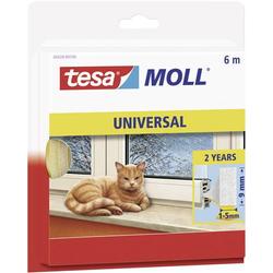 TESA 05428-100 05428-100 Dichtband tesamoll® Weiß (L x B) 6m x 9mm 6m
